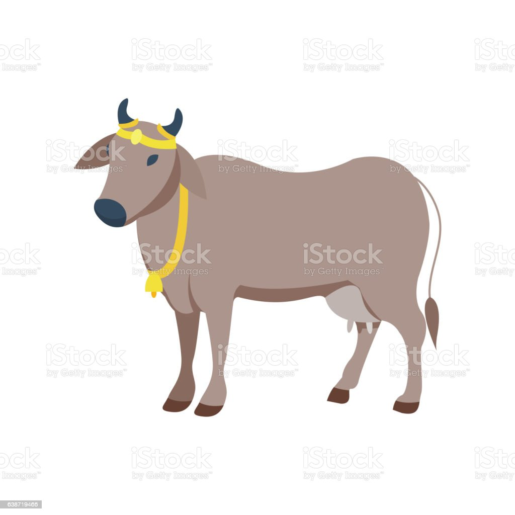 Cow vector illustration. vector art illustration