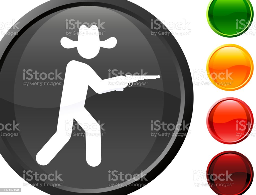 cowboy internet royalty free vector art royalty-free stock vector art