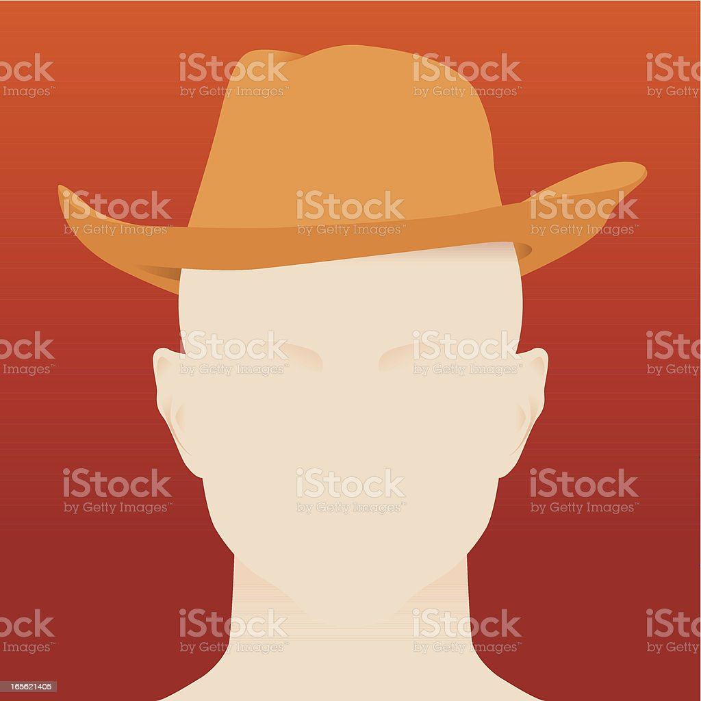 Cowboy royalty-free stock vector art