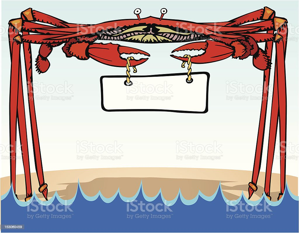 Crabby royalty-free stock vector art