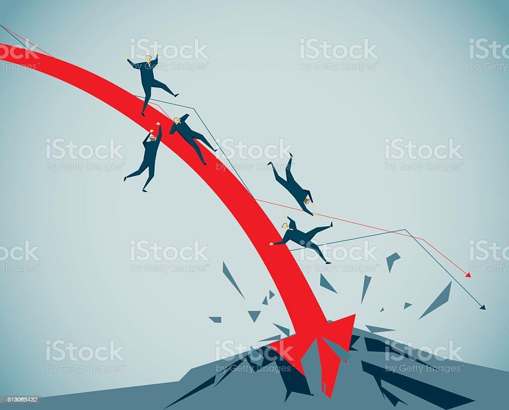 Crash vector art illustration