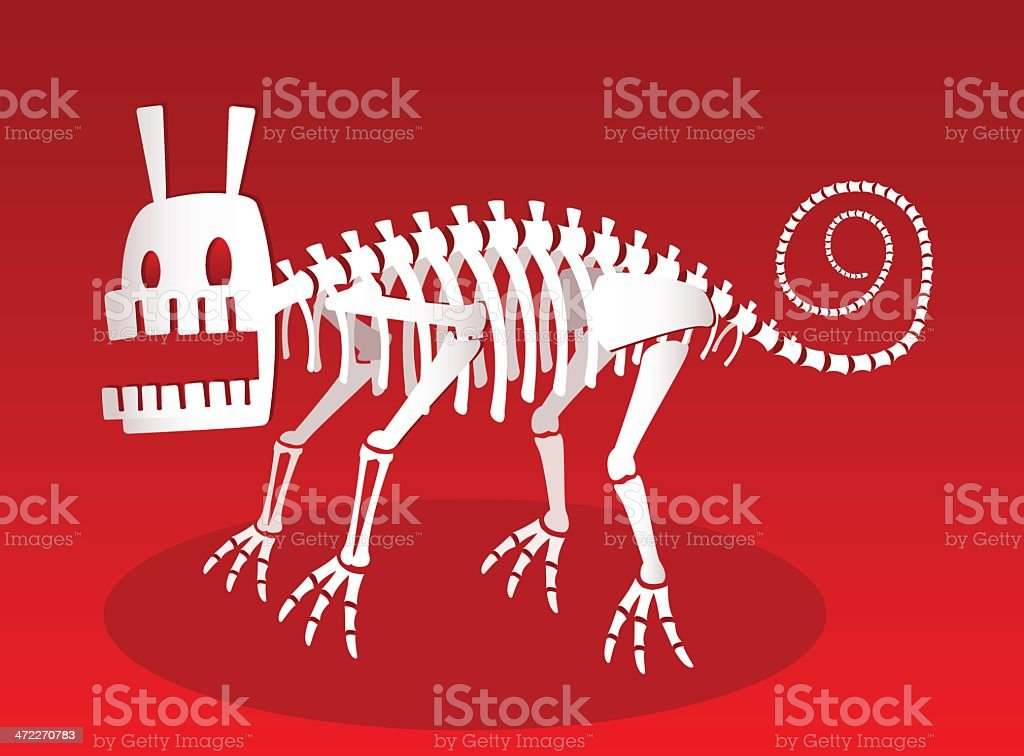 Crazy Creature [vector] royalty-free stock vector art