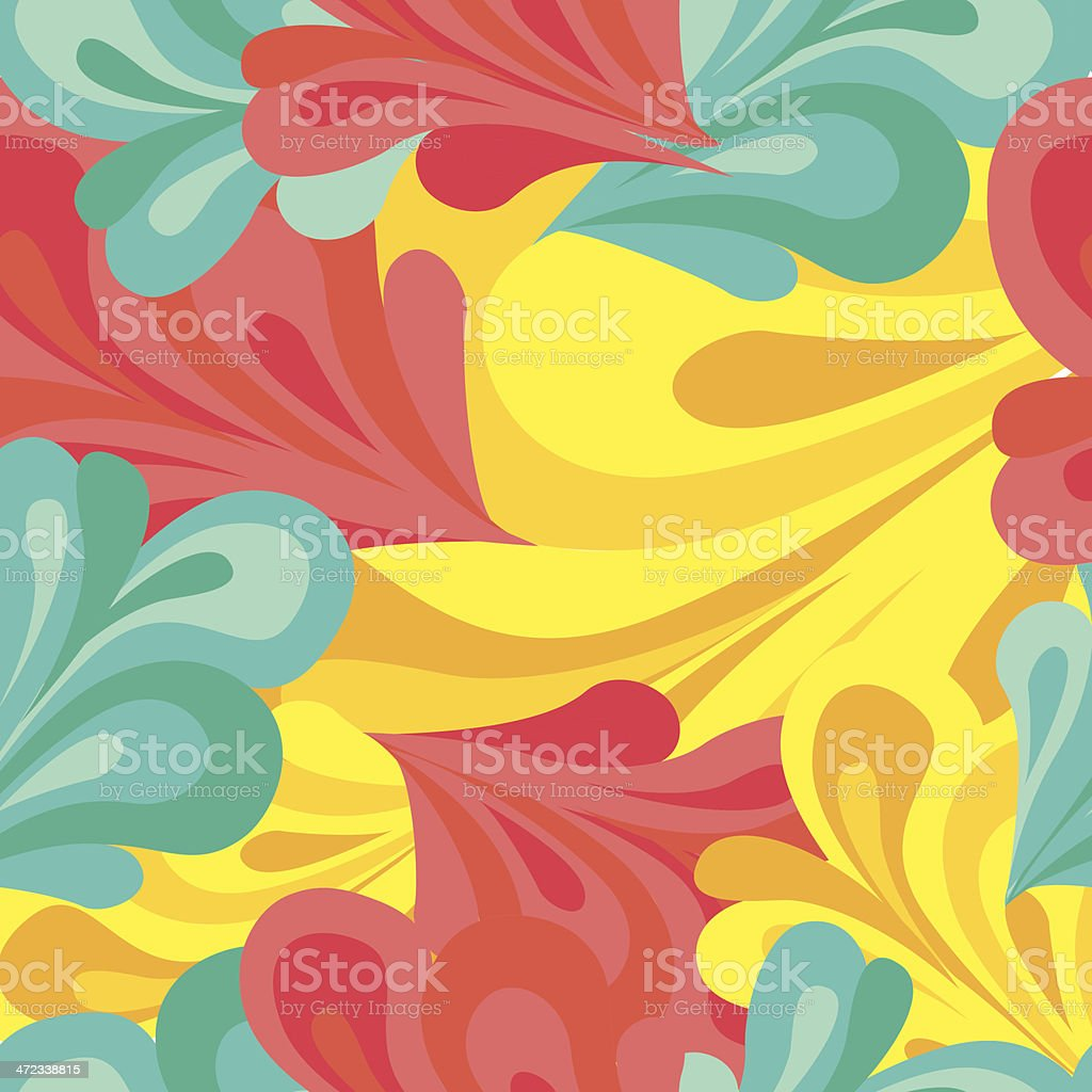 Crazy seamless pattern royalty-free stock vector art