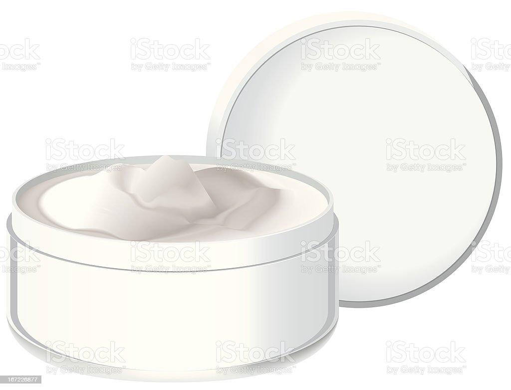cream vector royalty-free stock vector art