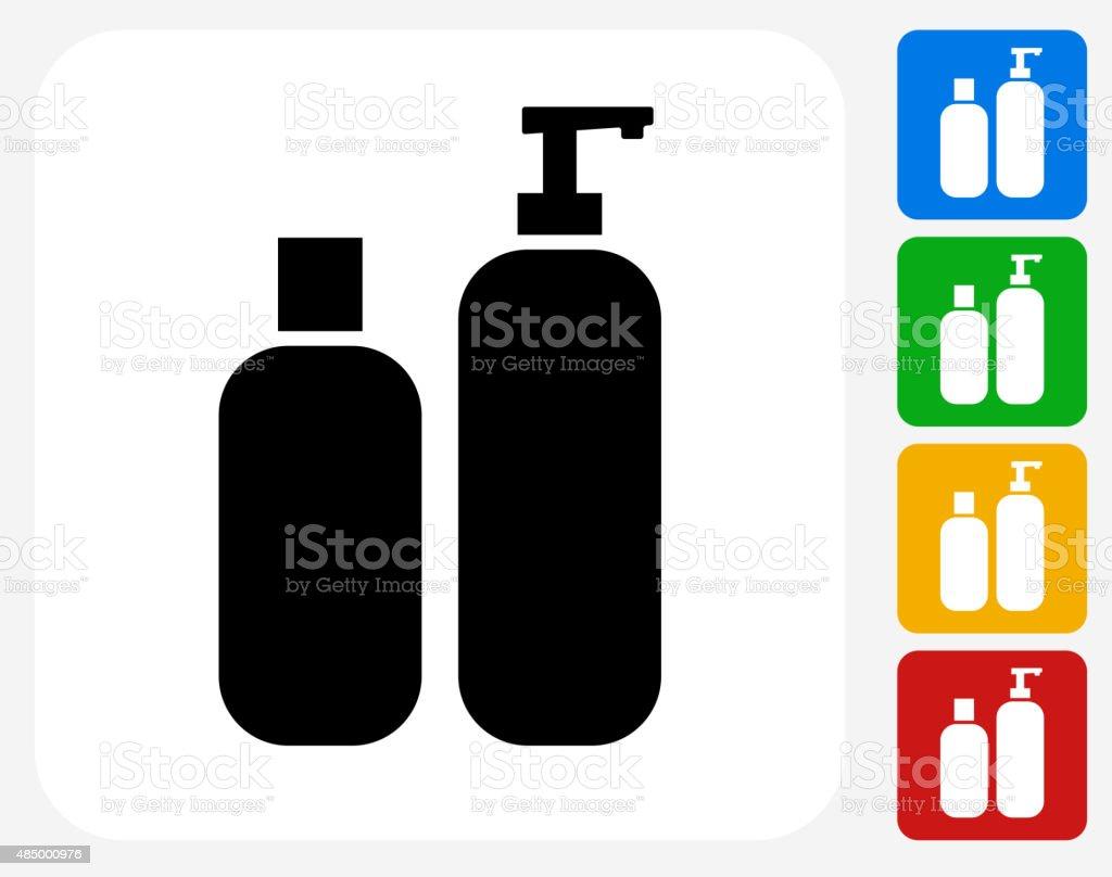 Creams Icon Flat Graphic Design vector art illustration