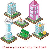 Create your own city. First part