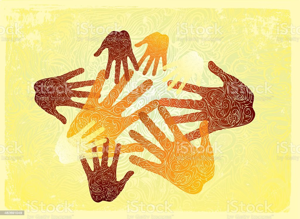 creating in unity vector art illustration