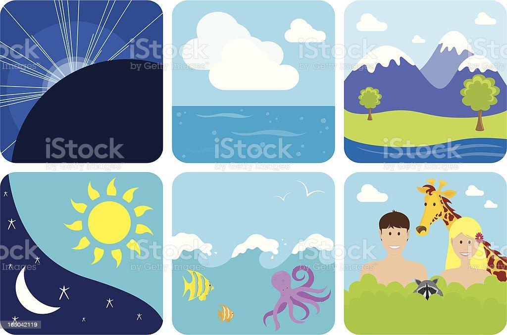Creation - incl. jpeg royalty-free stock vector art