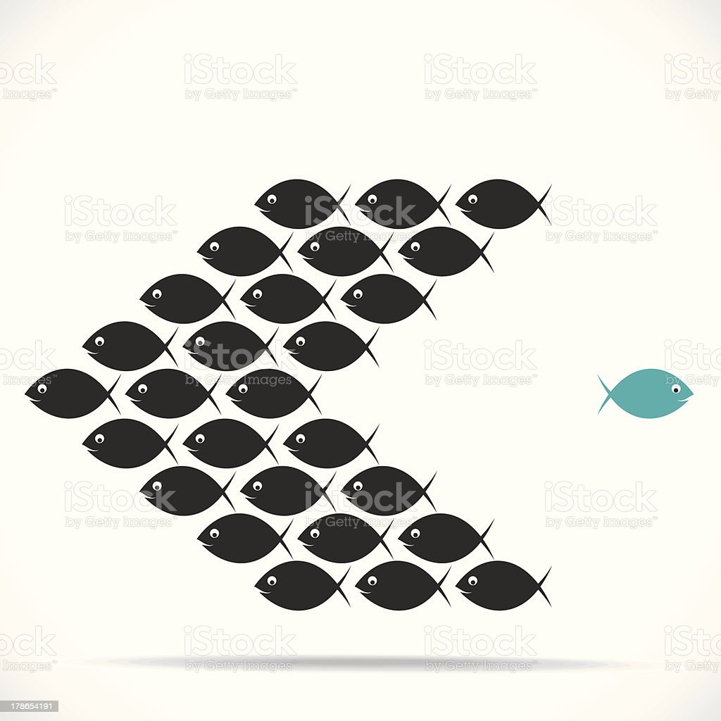 creative concept vector art illustration