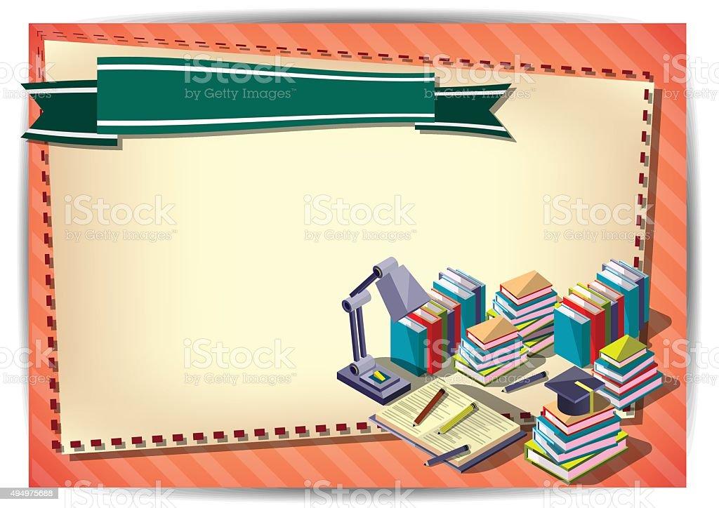 Creative Education Template Flyer Brochure Vector Paper Design – Paper Design Template