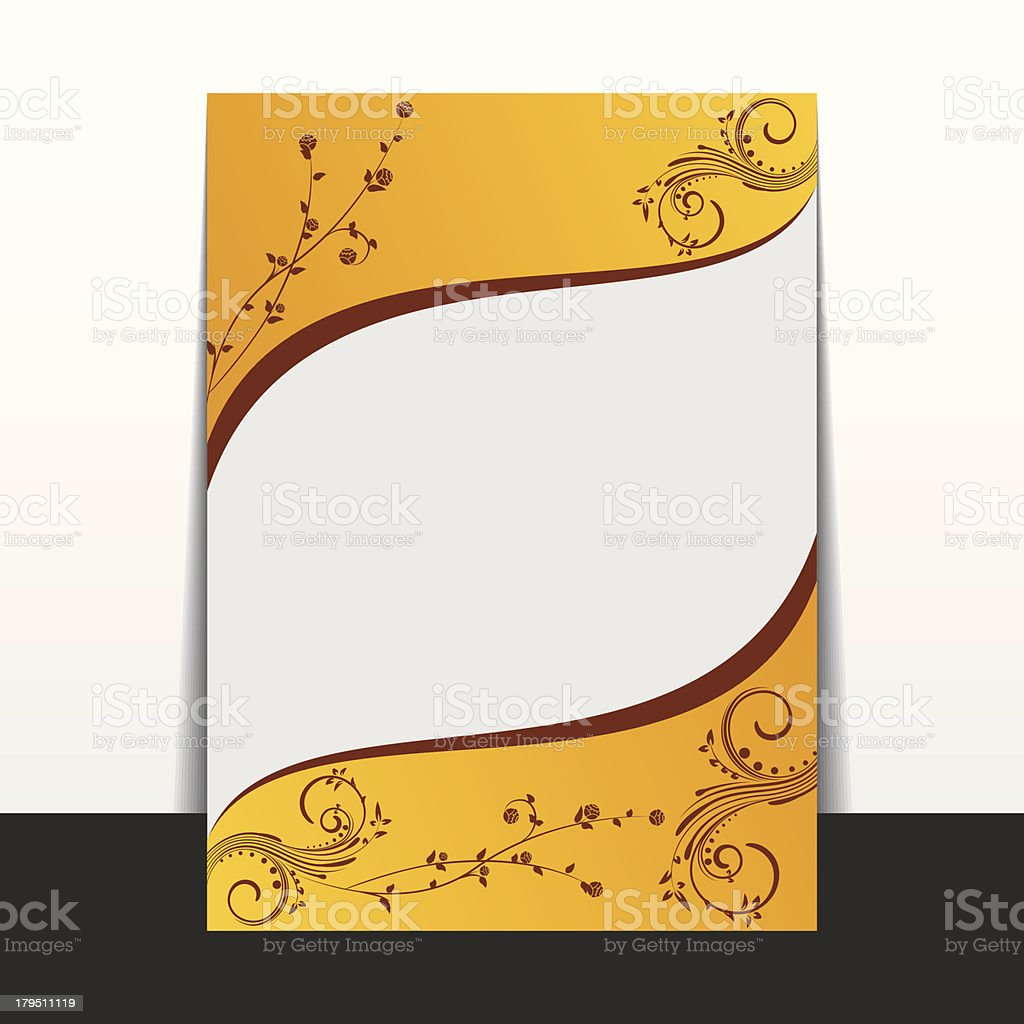 creative flyer royalty-free stock vector art