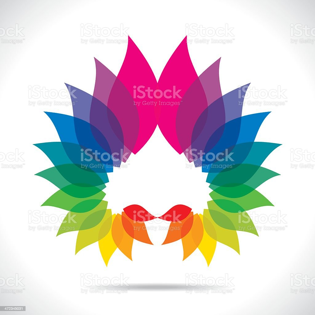 creative icon design vector art illustration