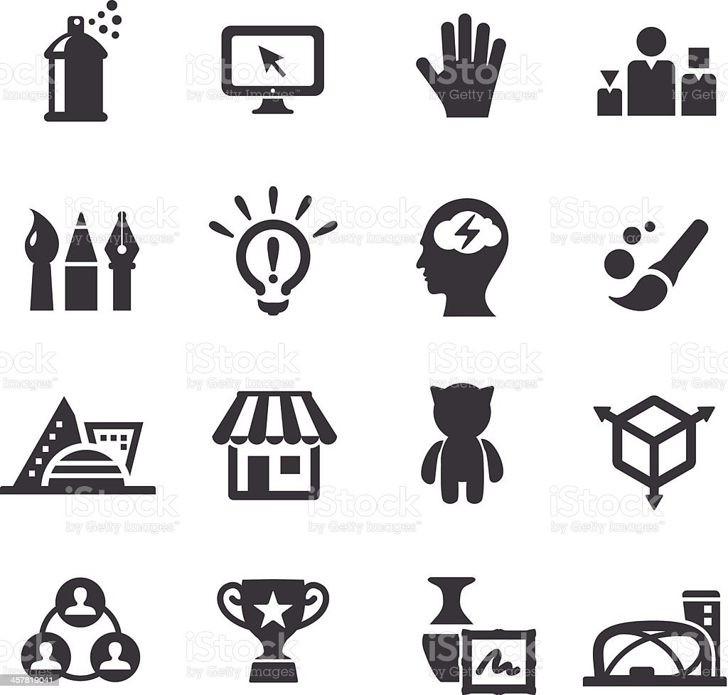 Creative Industry Icons - Acme Series vector art illustration