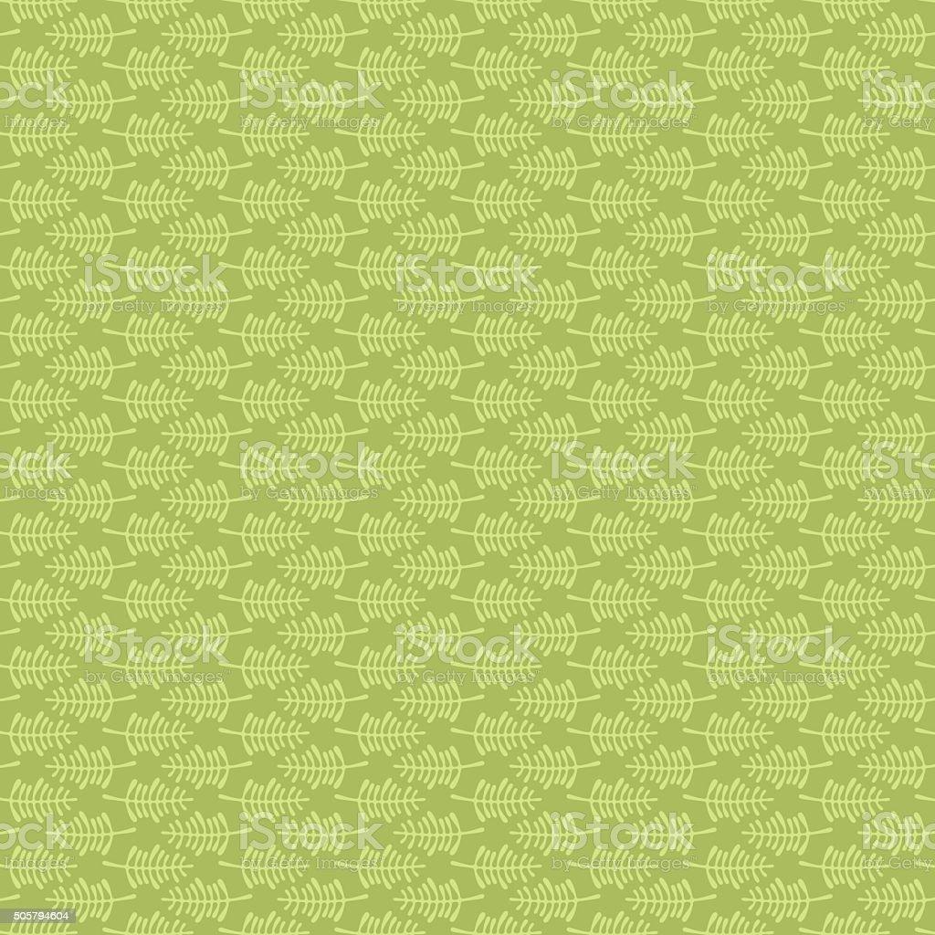 creative leaf pattern design vector art illustration