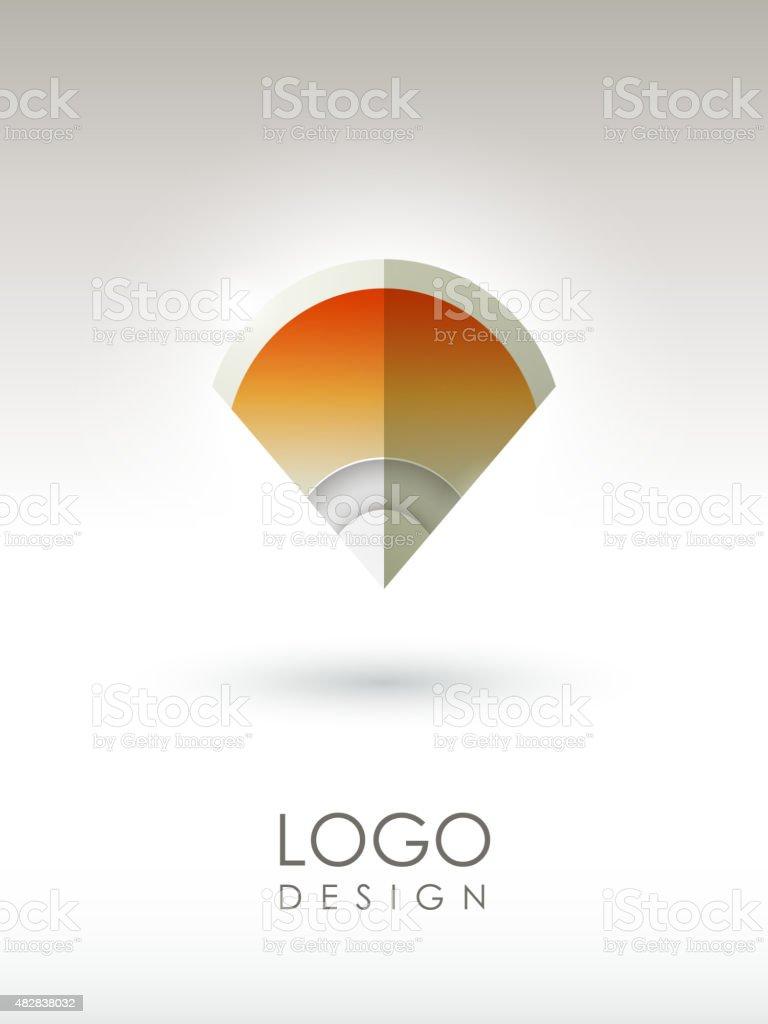 creative logo design vector art illustration