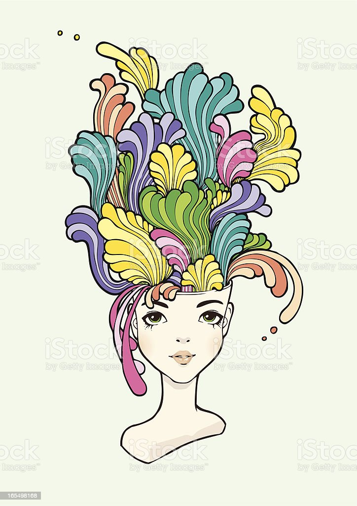 Creative Mind royalty-free stock vector art