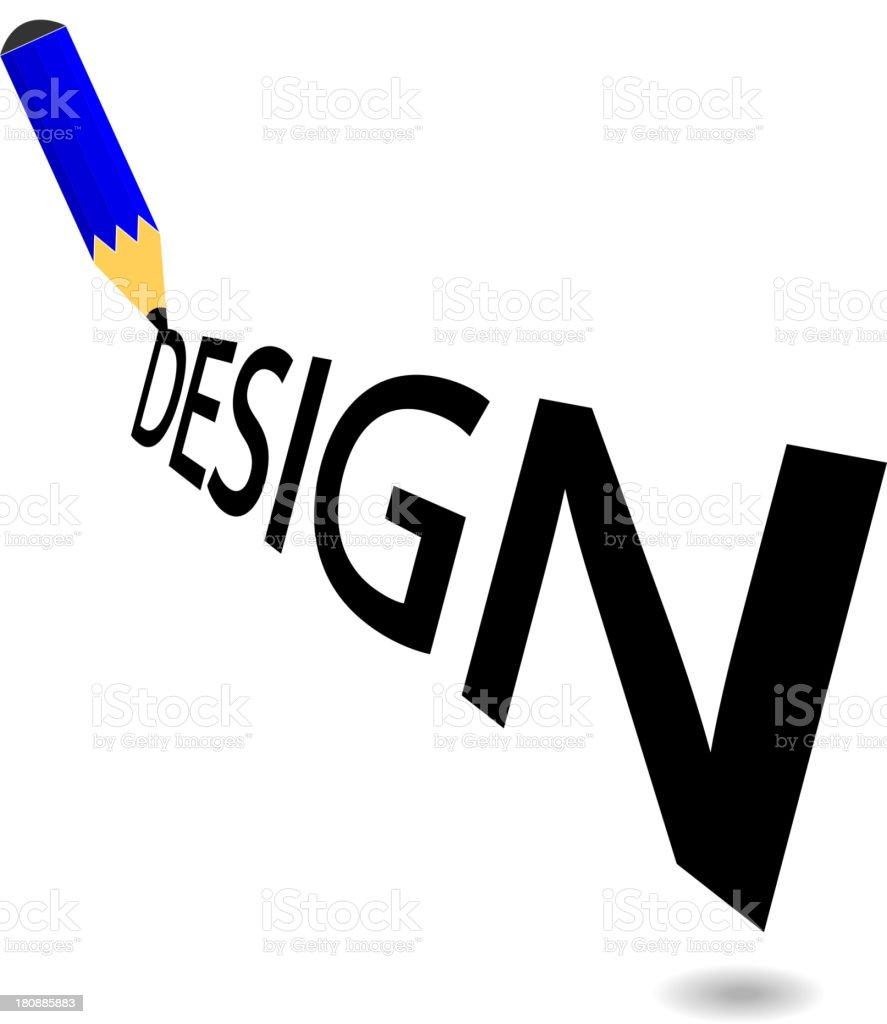 creative pencil background royalty-free stock vector art
