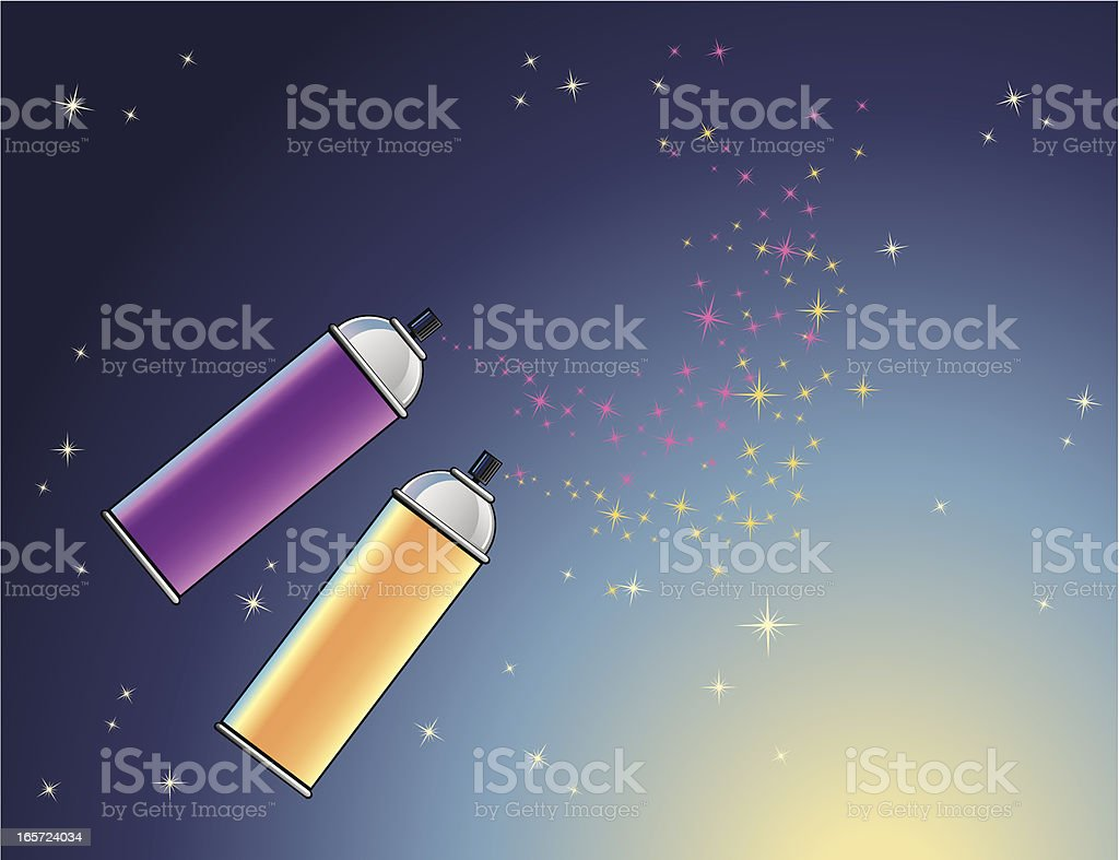 Creative Space Background royalty-free stock vector art