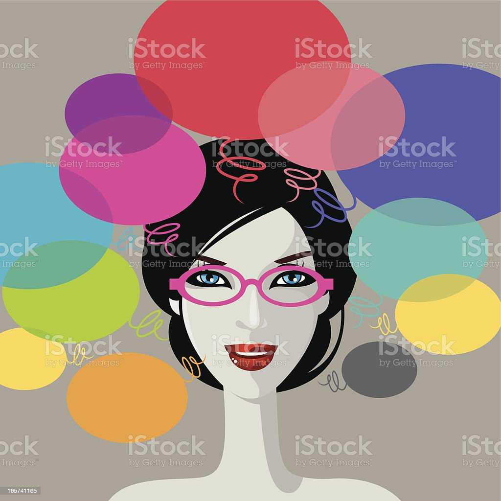 Creative thinking. royalty-free stock vector art