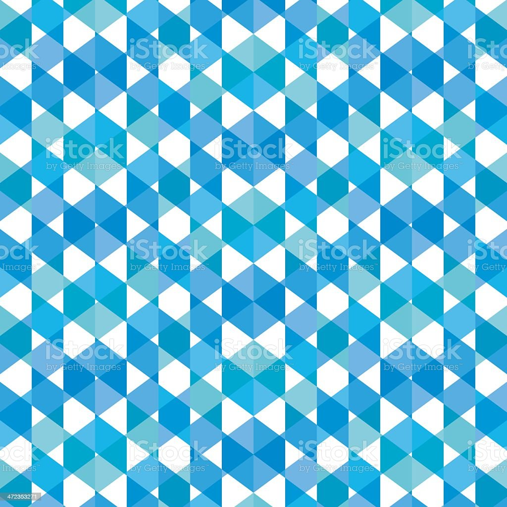 creative triangle pattern royalty-free stock vector art