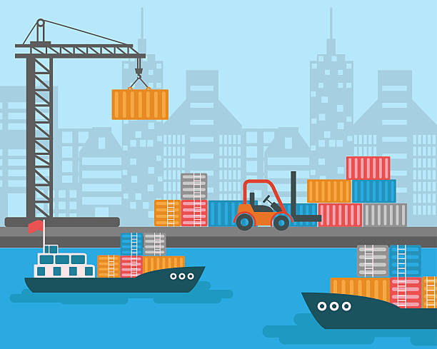 Intermodal Clip Art, Vector Images & Illustrations - iStock