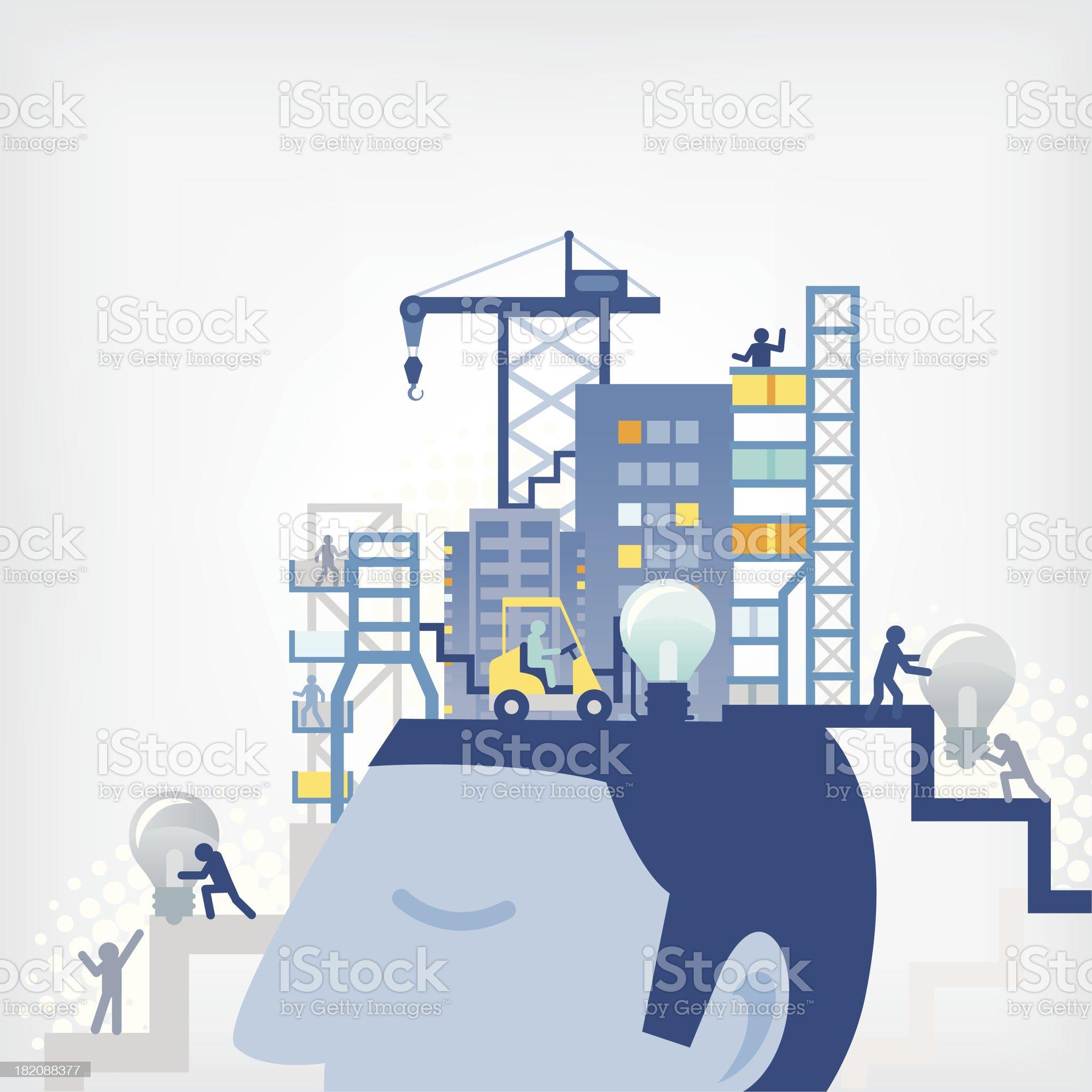 Creative/Business concept royalty-free stock vector art