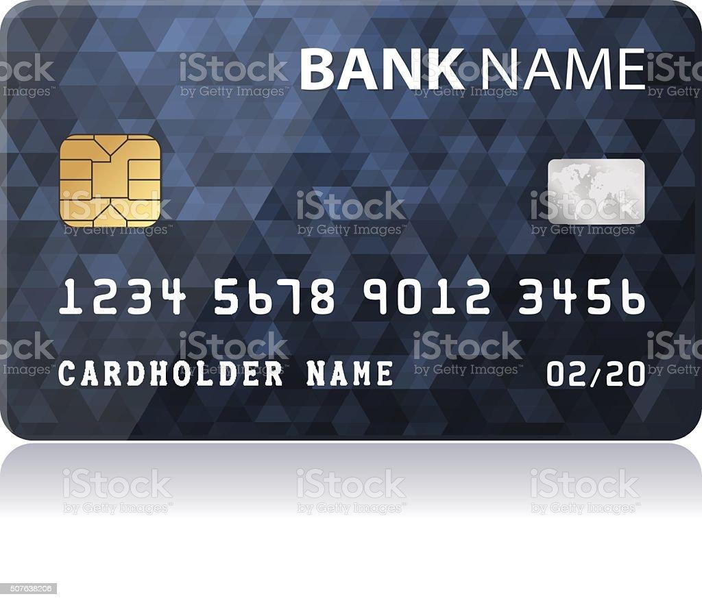 Credit Card - illustration vector art illustration