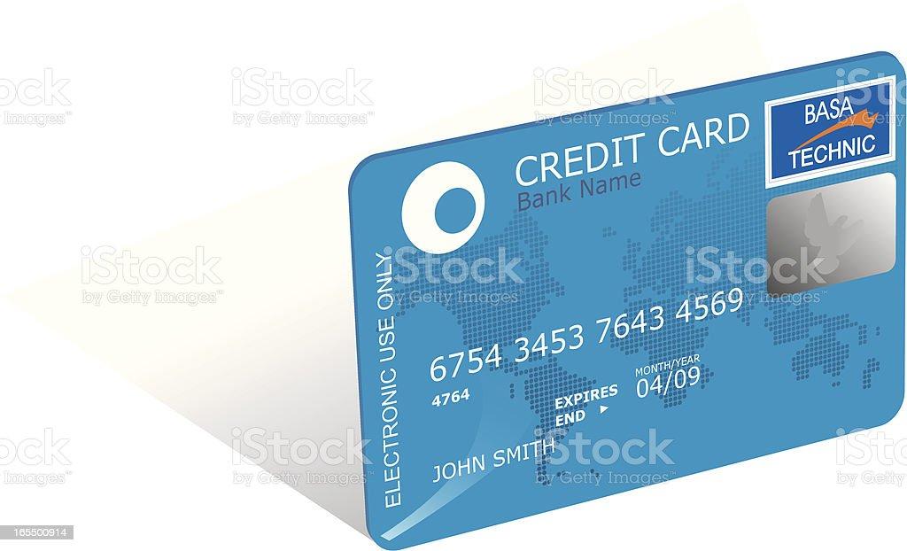 Credit card royalty-free stock vector art