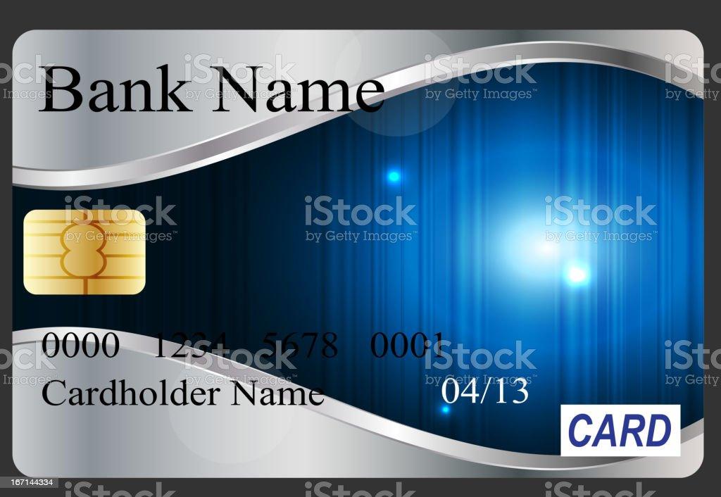 Credit card vector illustration royalty-free stock vector art