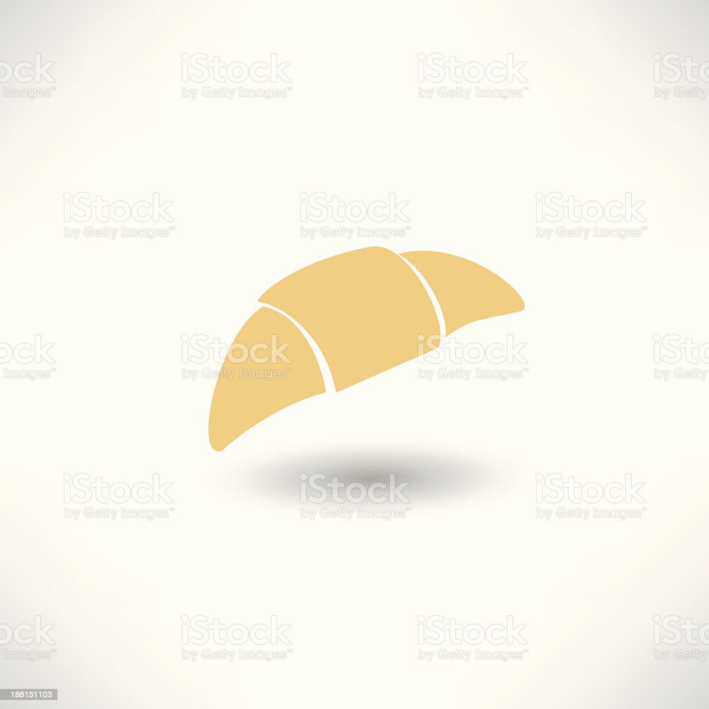croissant royalty-free stock vector art