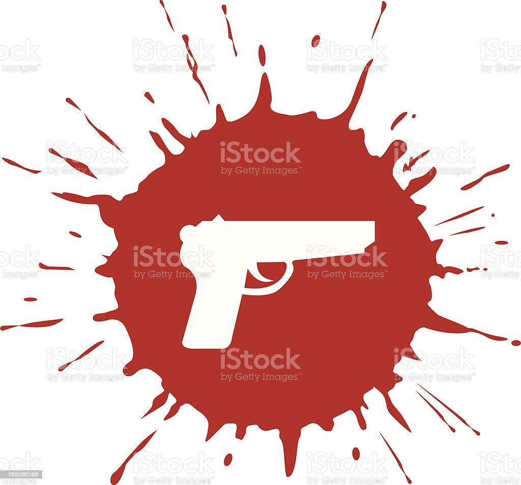 crime royalty-free stock vector art