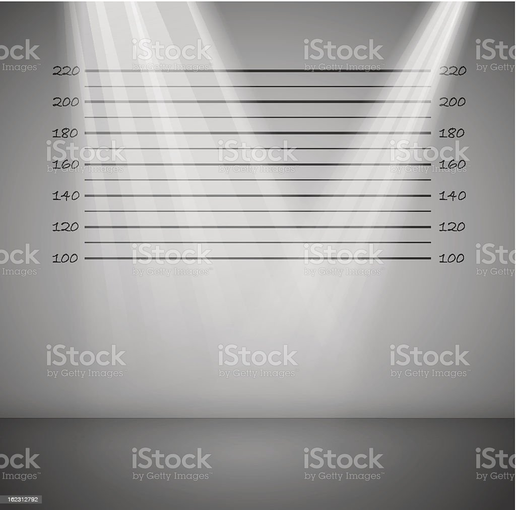 Criminal background with lines royalty-free stock vector art