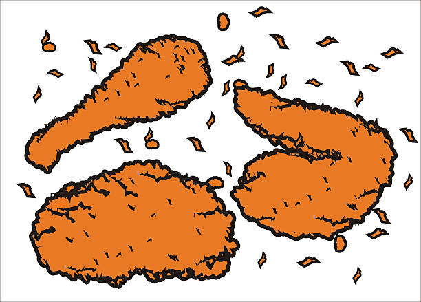 Fried Chicken Clip Art: Fried Chicken Clip Art, Vector Images & Illustrations