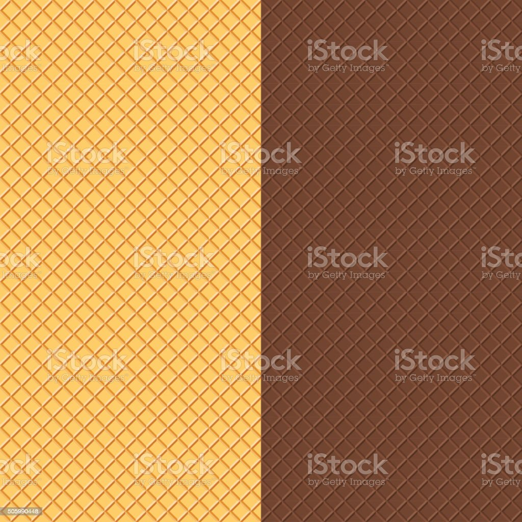 Crispy Wafers Texture vector art illustration