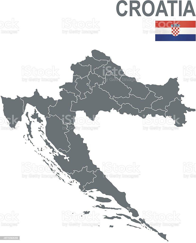 Croatia royalty-free stock vector art