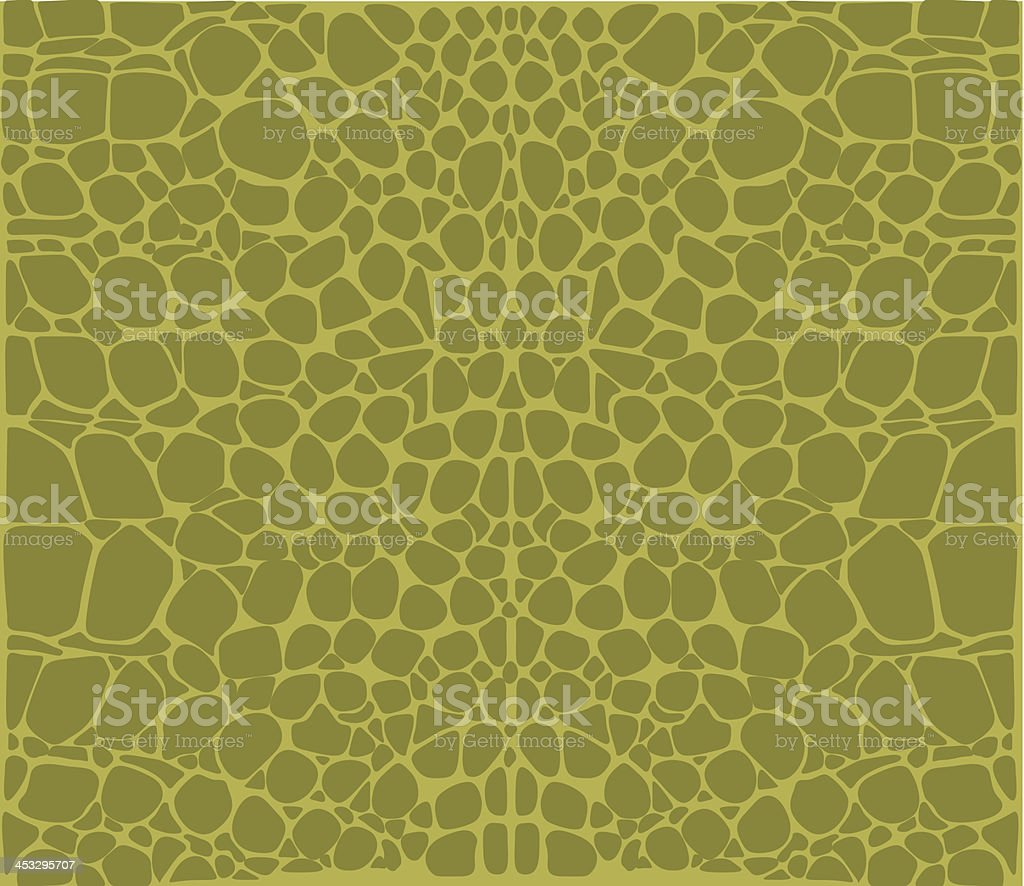 Crocodile Pattern vector art illustration