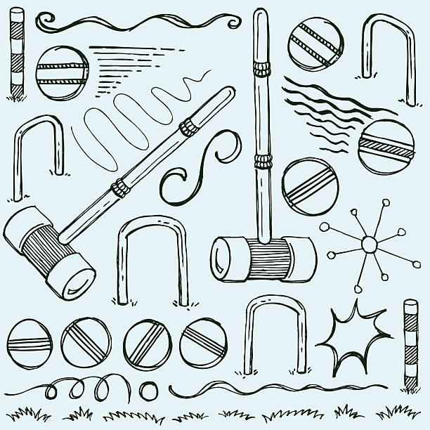 Croquet Clip Art, Vector Images & Illustrations - iStock