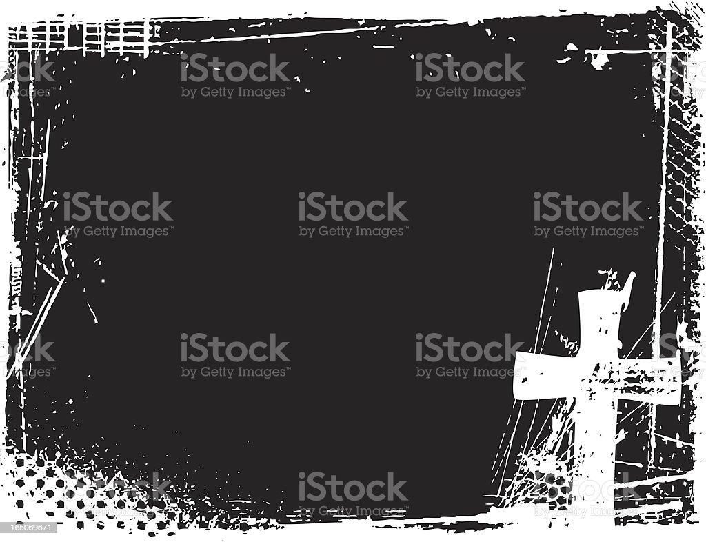 Cross Background royalty-free stock vector art