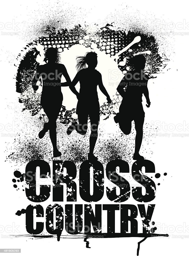 cross country running clip art vector images