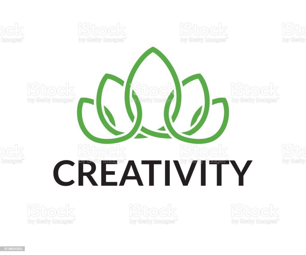 Crown vector icon vector art illustration