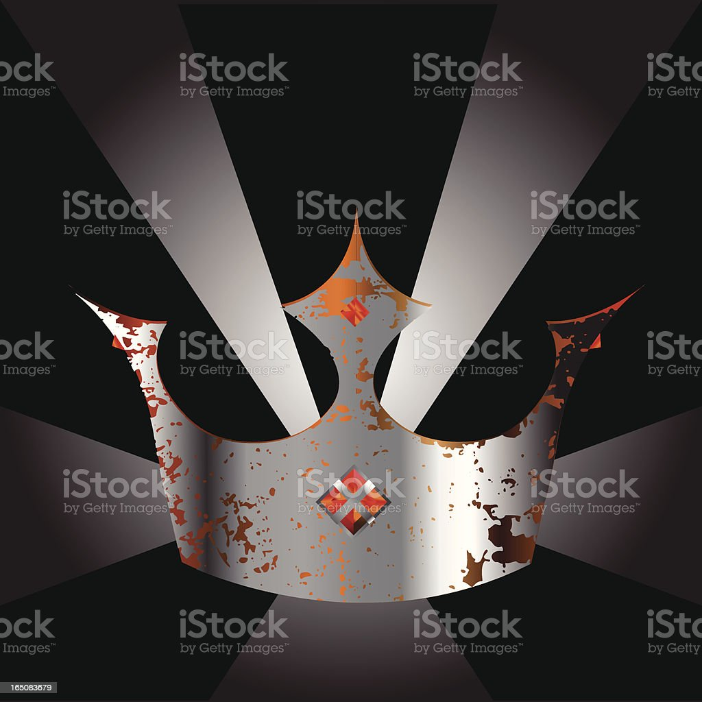 Crown royalty-free stock vector art