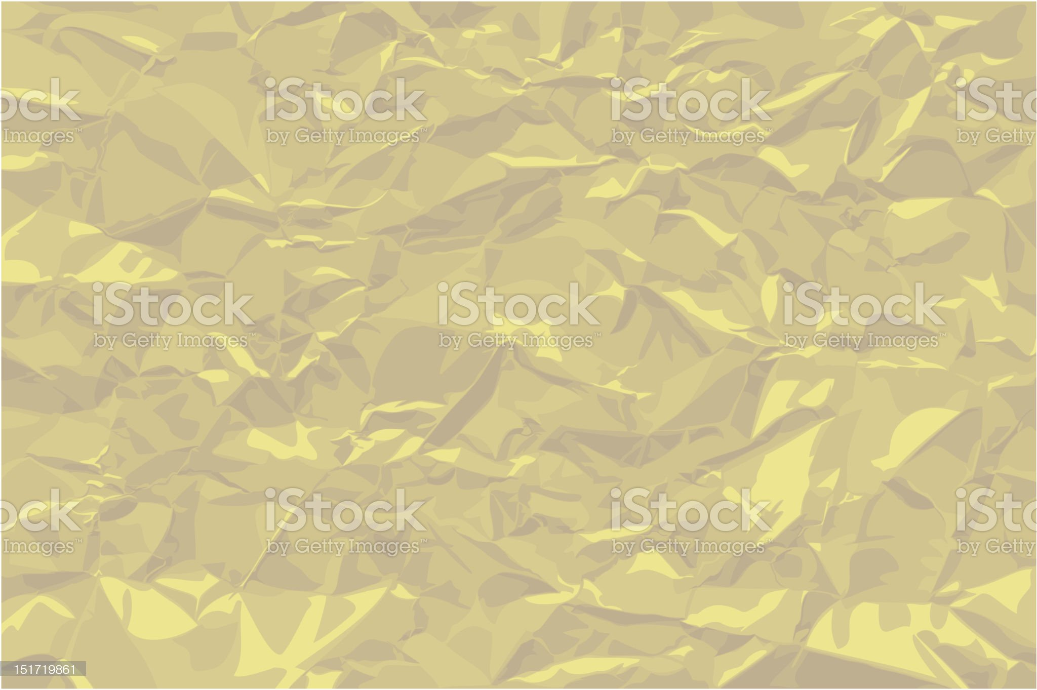Crumpled khaki royalty-free stock vector art