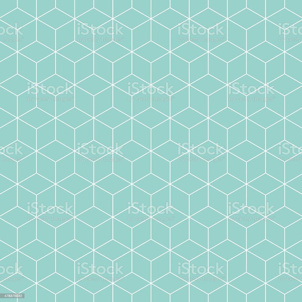 Cubes pattern background. vector art illustration