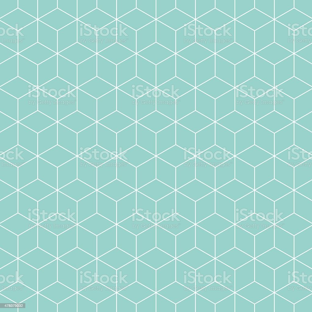 Cubes pattern background. vector art illustration
