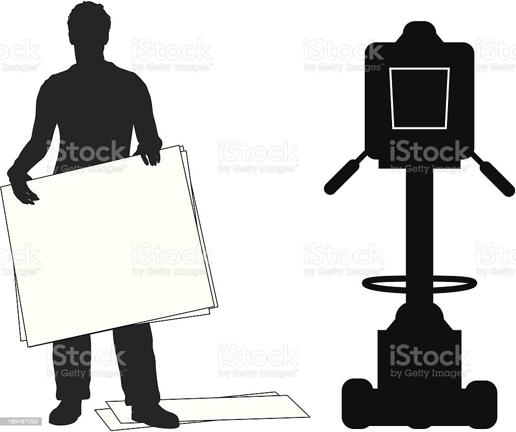 Cue Cards royalty-free stock vector art