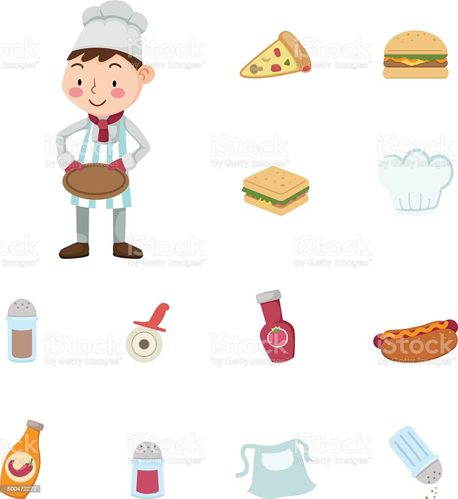 cuisine icons royalty-free stock vector art