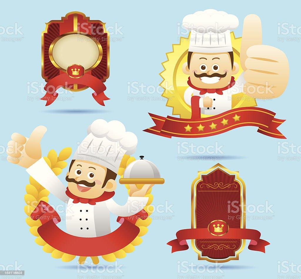 cuisine,Epicure set royalty-free stock vector art