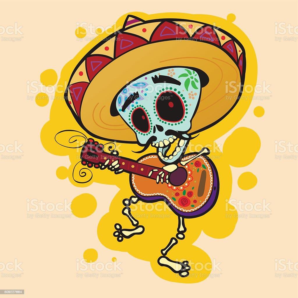 Culture of Mexico vector art illustration