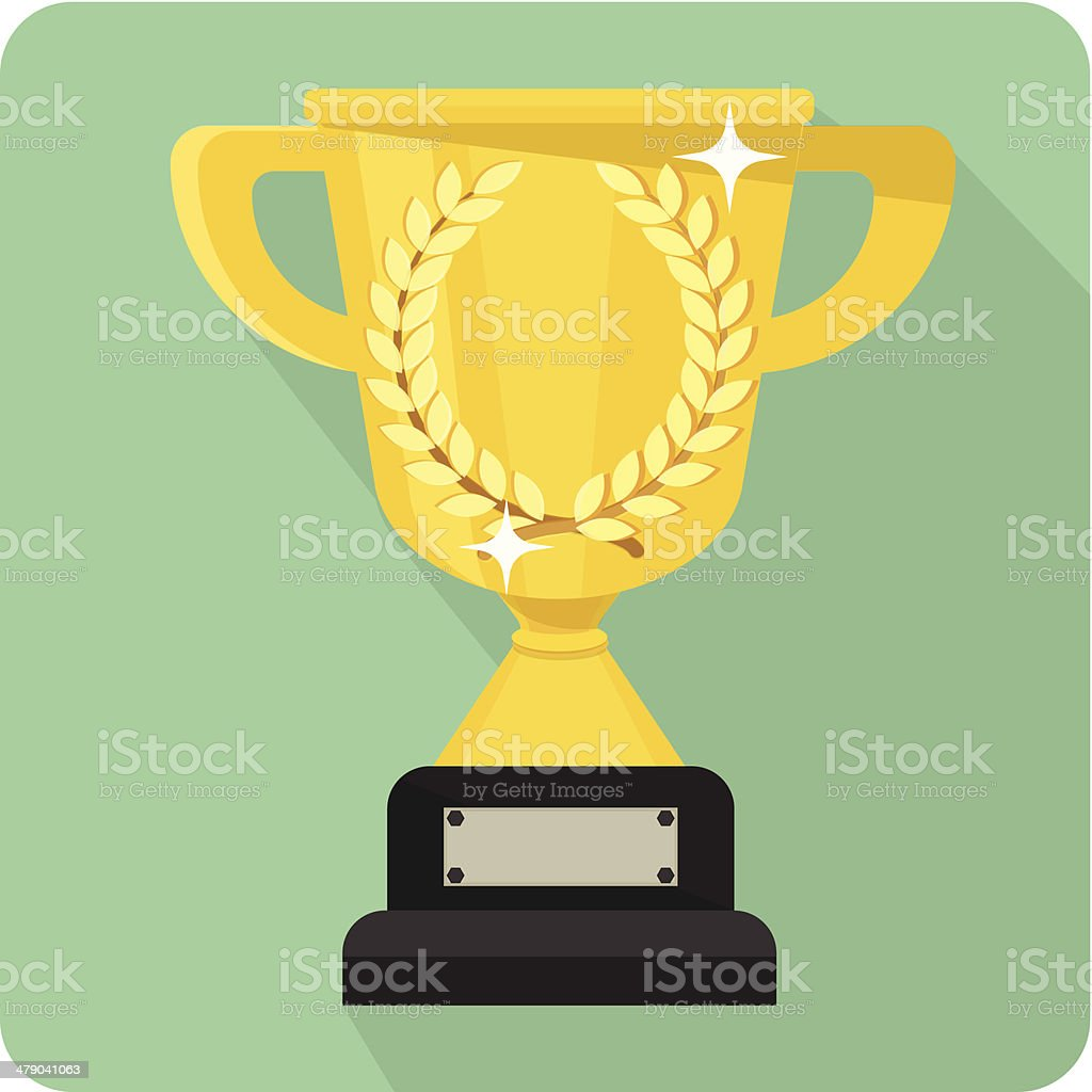 Cup -flat  Illustration royalty-free stock vector art