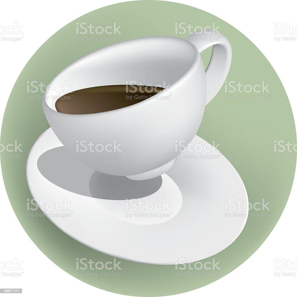 cup 'o joe white royalty-free stock vector art